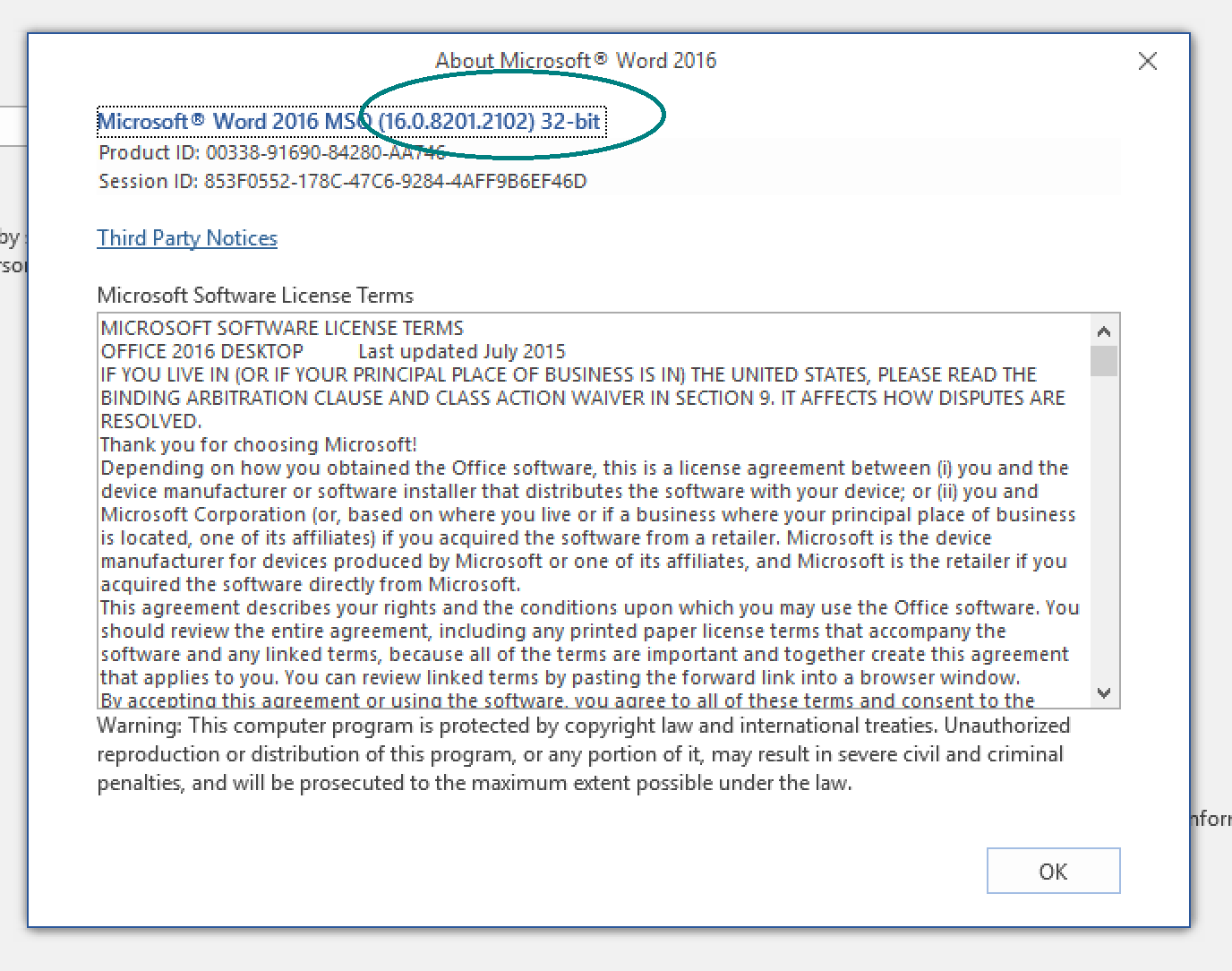 How do I check whether I have 64-bit or 32-bit Office on my