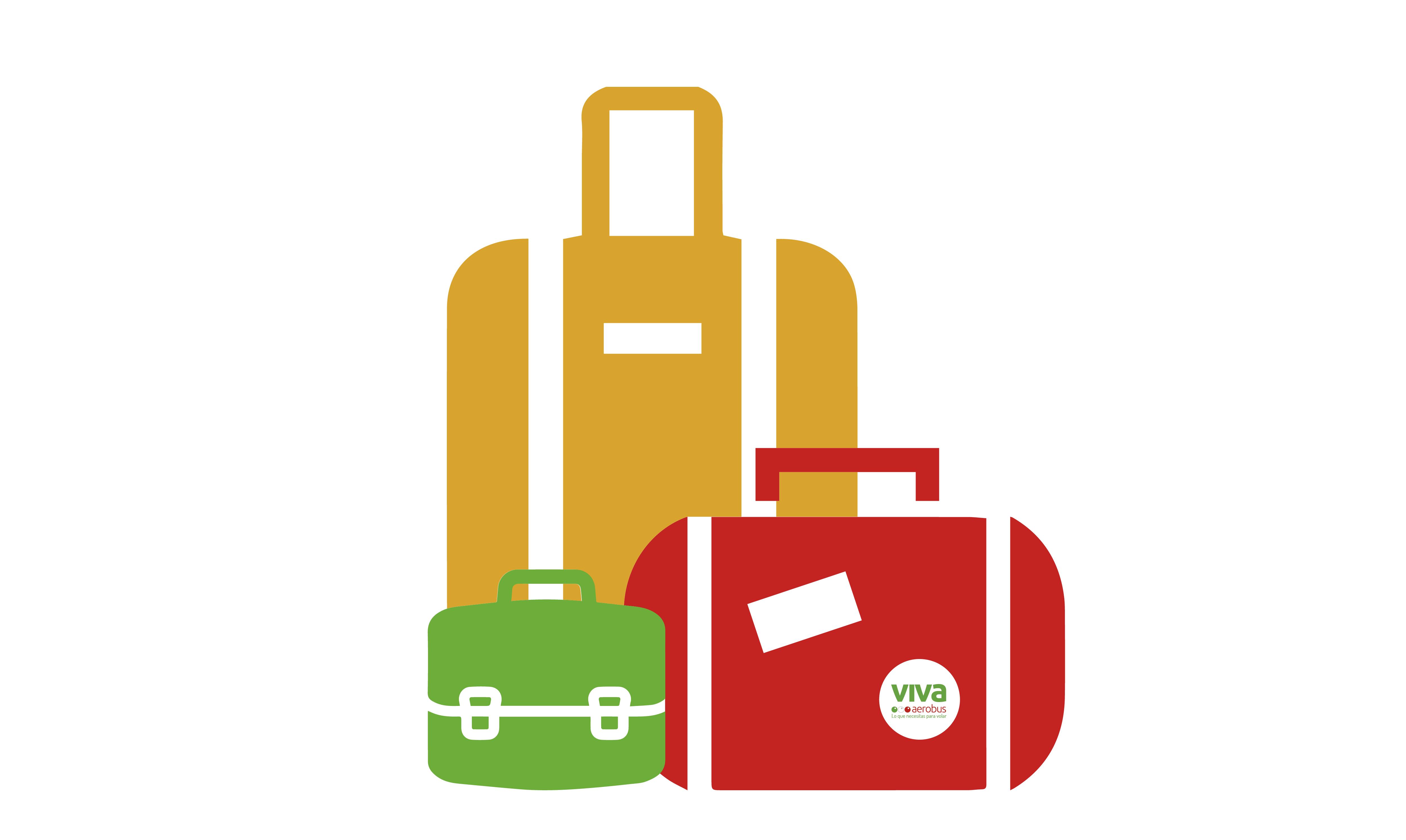 6dccdda2a Nos han enviado muchas preguntas sobre las medidas que deben tener las  maletas al viajar por VivaAerobus. En este artículo verás las medidas y  peso de cada ...