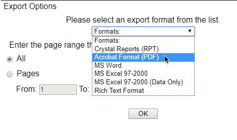 word formats for reports