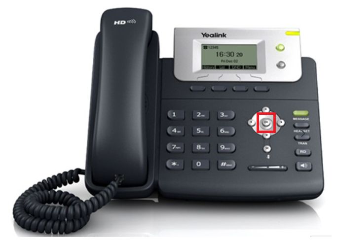 How to do a factory reset on Yealink Desk Phone? : icomplete