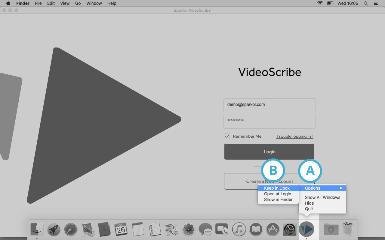 Find VideoScribe on your computer and open it : VideoScribe