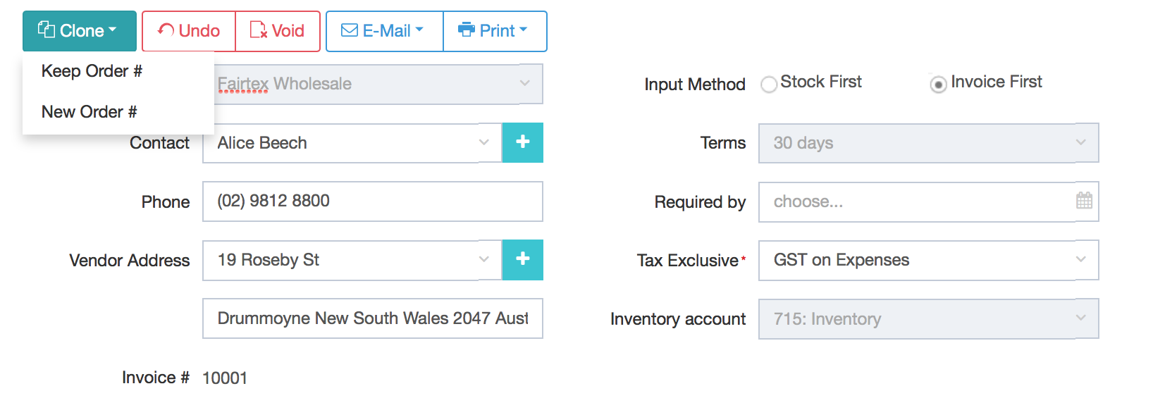Are Invoice And Purchase Order The Same | Processing Orders That Have Been Partially Received Invoiced Dear
