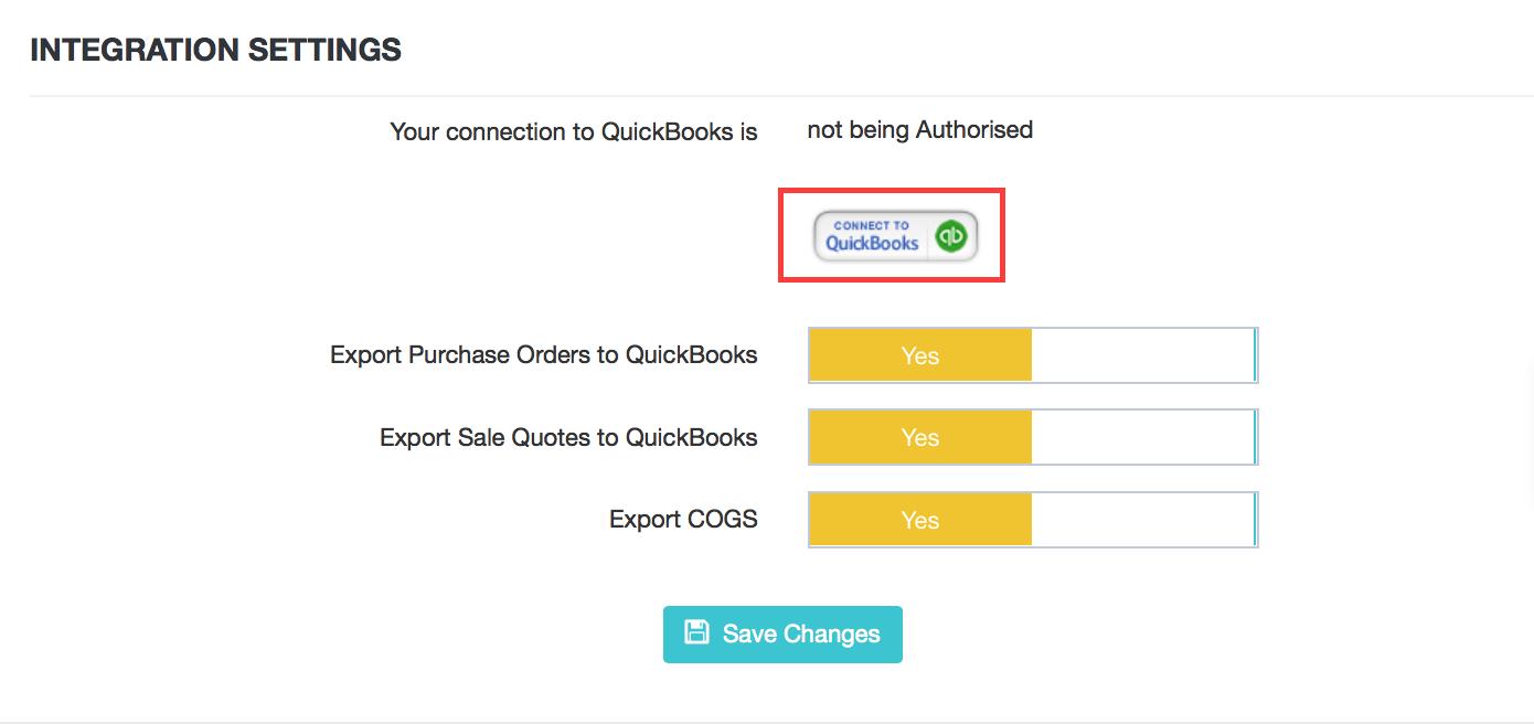 QuickBooks Online Integration : DEAR Support Team