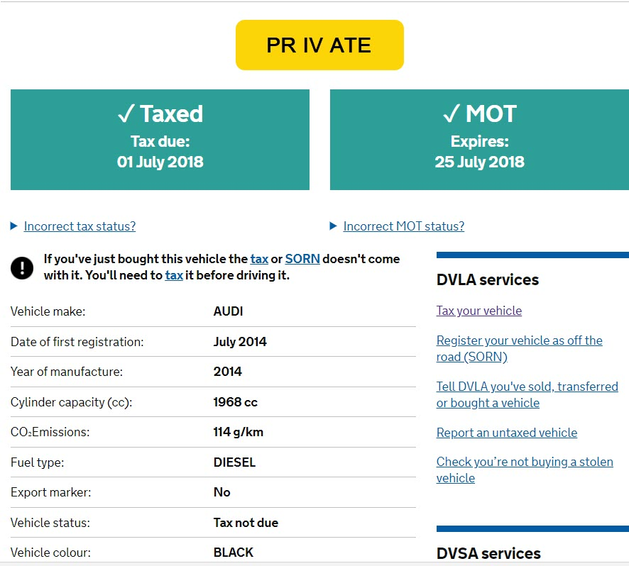 What should I do with the MOT certificate I have shows the old ...