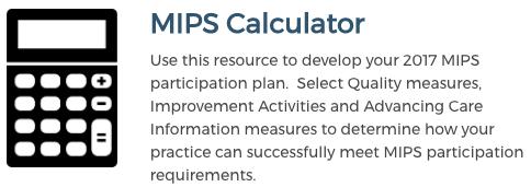 ACR MIPS Calculator