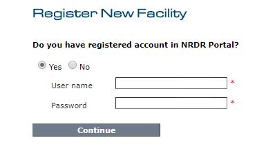 Registration - Login