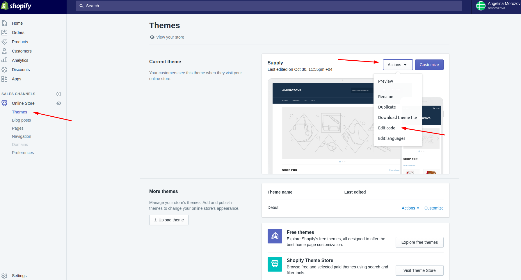 How to setup Smart navigation through Shopify collections :