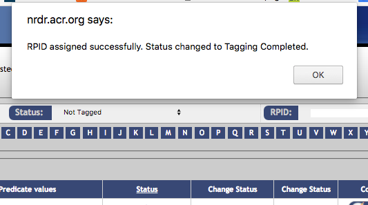 DIR ENMT Example 1 - Tagging Completed Message
