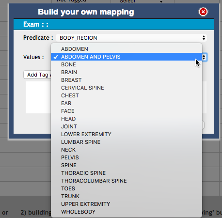 DIR ENMT - Build Your Own Mapping Dialog Box