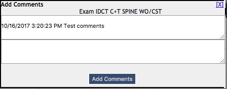 DIR ENMT - Show Test Comments