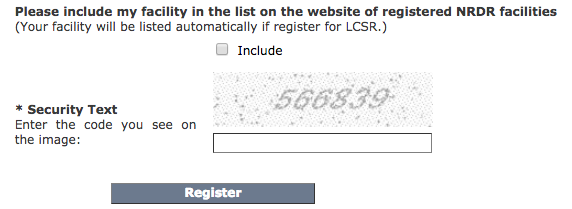 Registration Sections 3 and 4