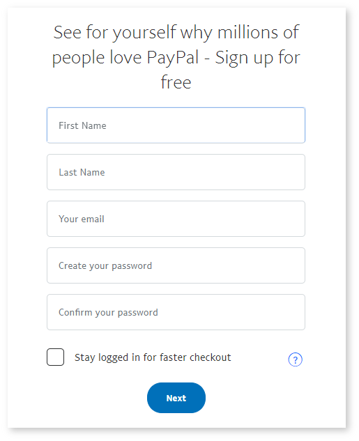 PayPal - Setup & Integration in Payrexx : Customer Support