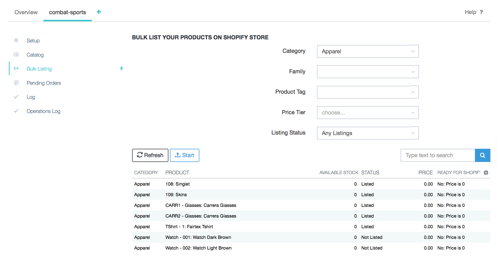 Shopify Integration : DEAR Support Team