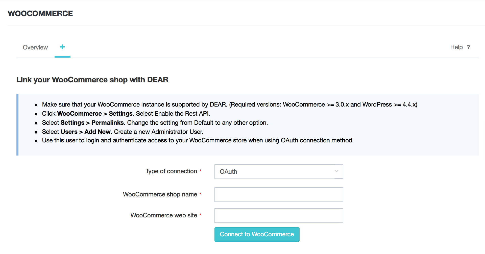 WooCommerce Integration DEAR Support Team - Woocommerce invoice system