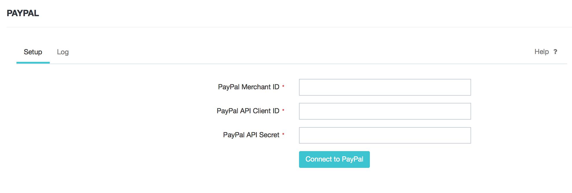 Paypal Integration : DEAR Support Team
