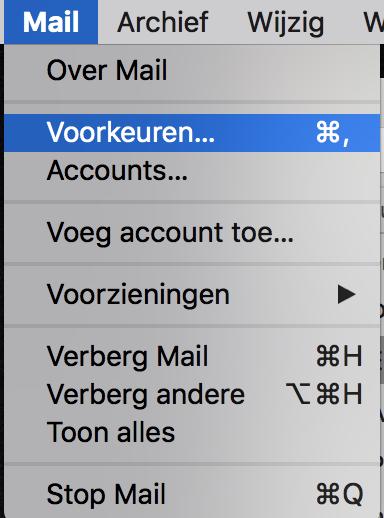 Een E Mailaccount Toevoegen Aan Apple Mail Vip Internet