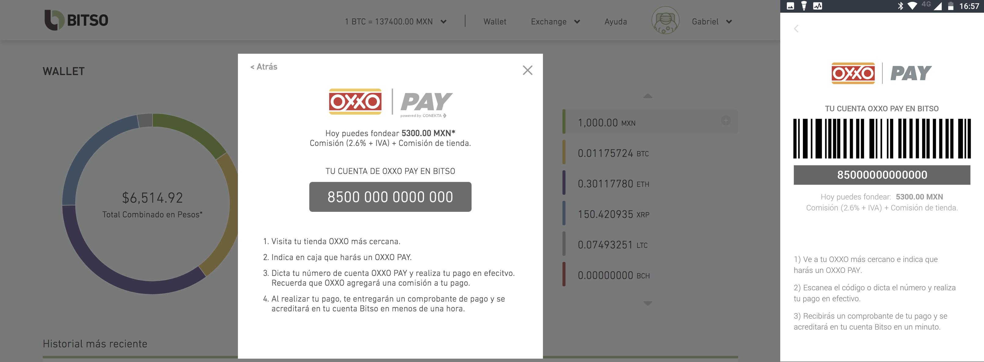 tutorial cómo fondear en efectivo por medio de oxxo centro de ayuda