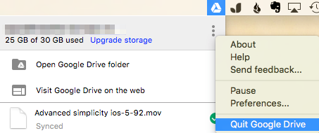 Change from Google Drive to Google Backup and Sync : Dynamic
