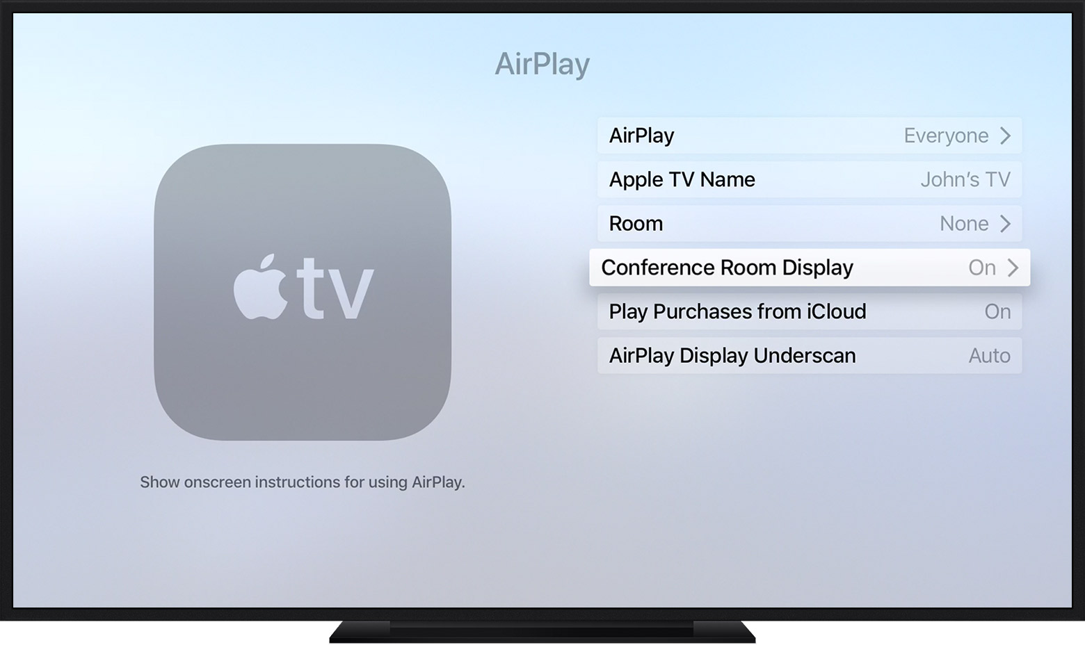 Display Ditto Connection Instructions On Apple Tv Ditto