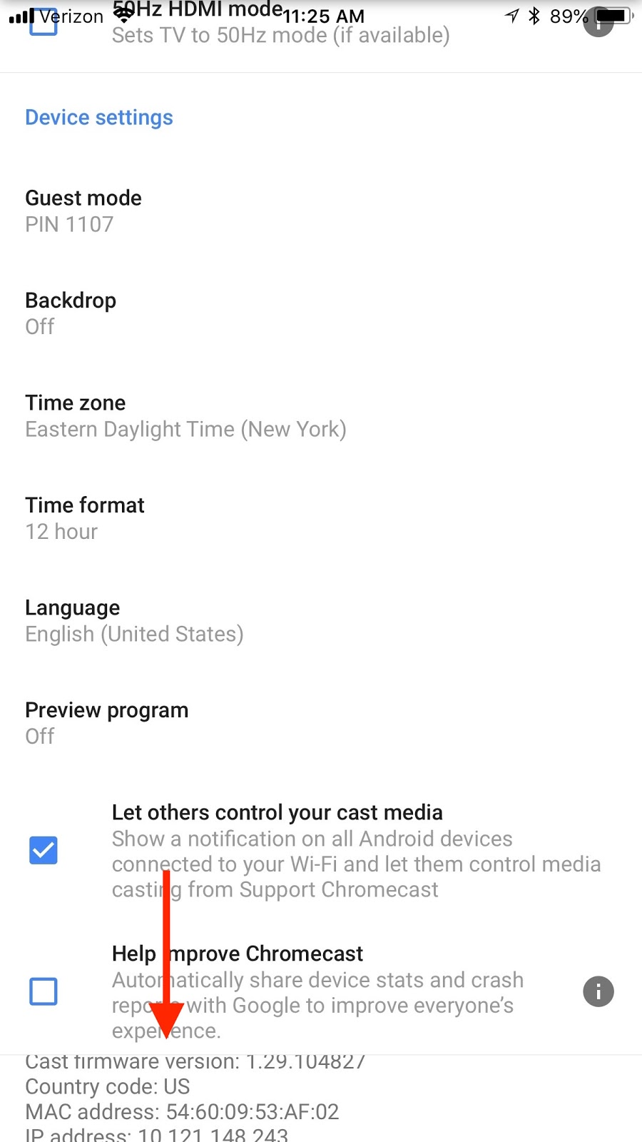 How to add a Ditto Receiver — Chromecast : Ditto
