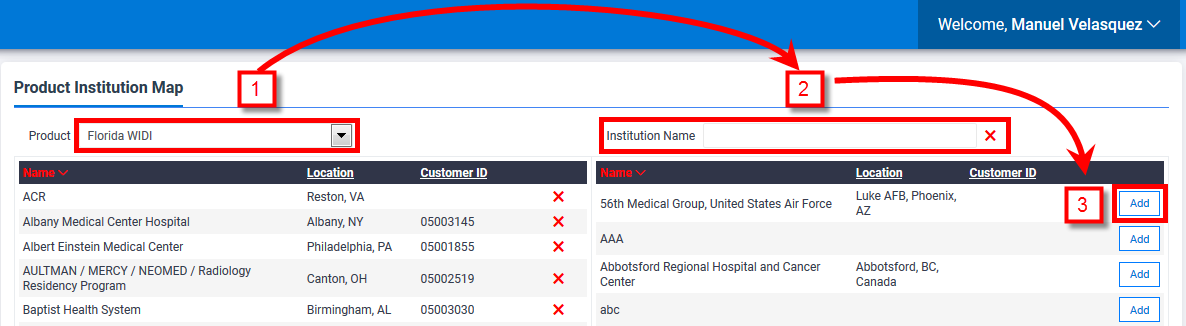 WIDI Registrant - Setting up WIDI User Accounts for Taking a