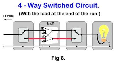 2 way switch wiring diagram fig 1 two schematics online 4 way intermediate switch wiring diagram how to wire a 3 way light switch