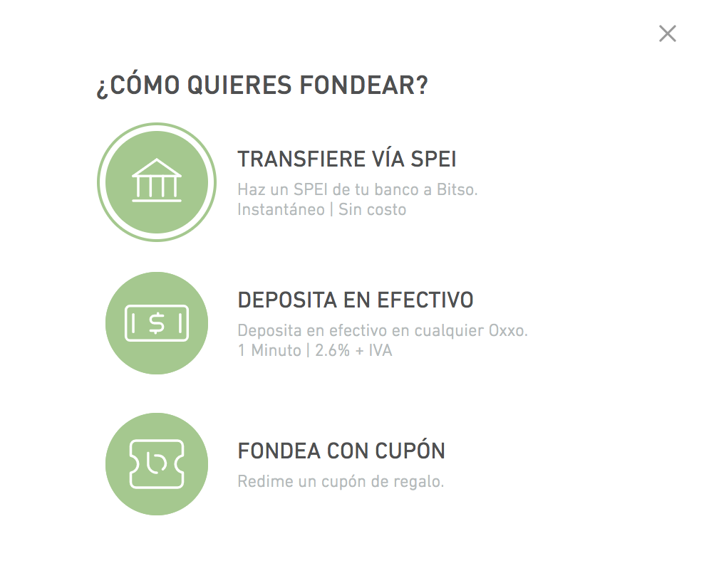 Tutorial: Funding the account by means of SPEI : Centro de Ayuda