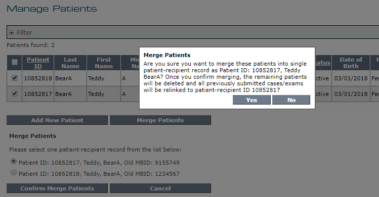 Manage Patients - Merge Patients - Confirmation Message.png