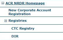 NRDR Menu – New Facility Registration.png