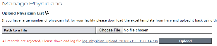 Manage Physicians - Bulk Upload - Error Message v11.99.png