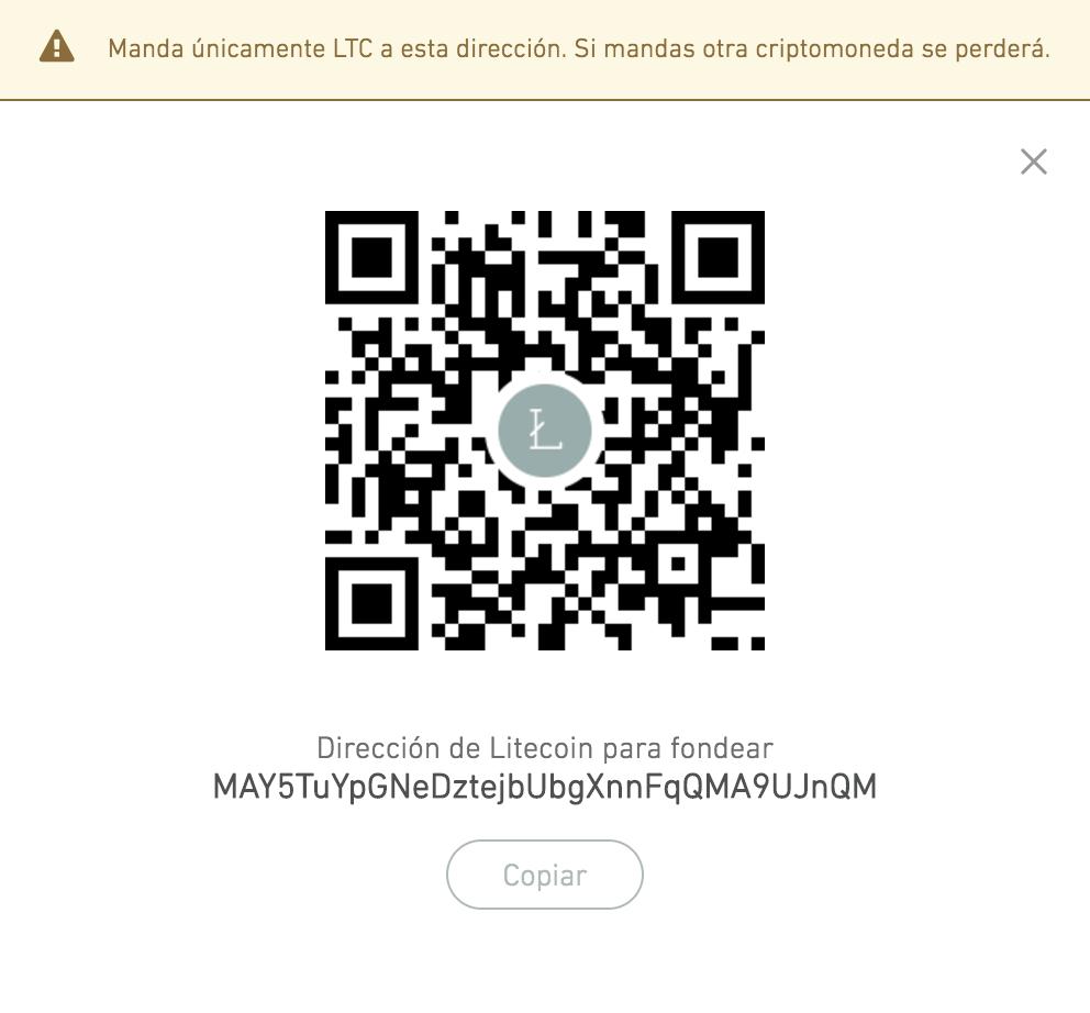 Solución: ¿Cómo convertir mi dirección de Litecoin (LTC