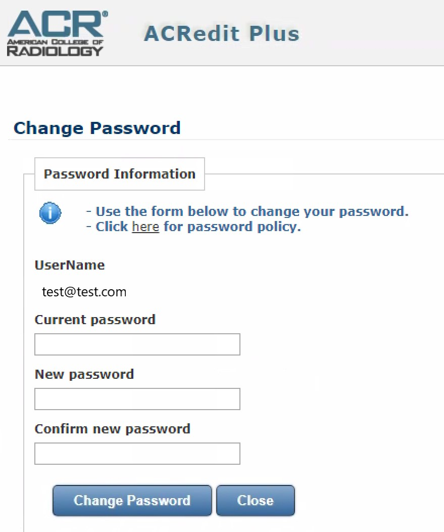 Resetting Your Password or Login in ACRedit/ACRedit Plus (Revised