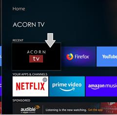 How to update your Fire TV App : Acorn TV Help Center