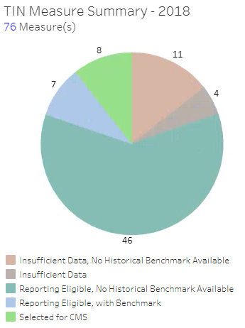 MIPS Measure Summary Pie Chart