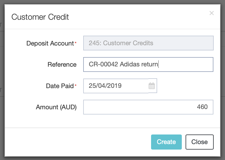 Customer Credit Notes and Refunds : DEAR Support Team
