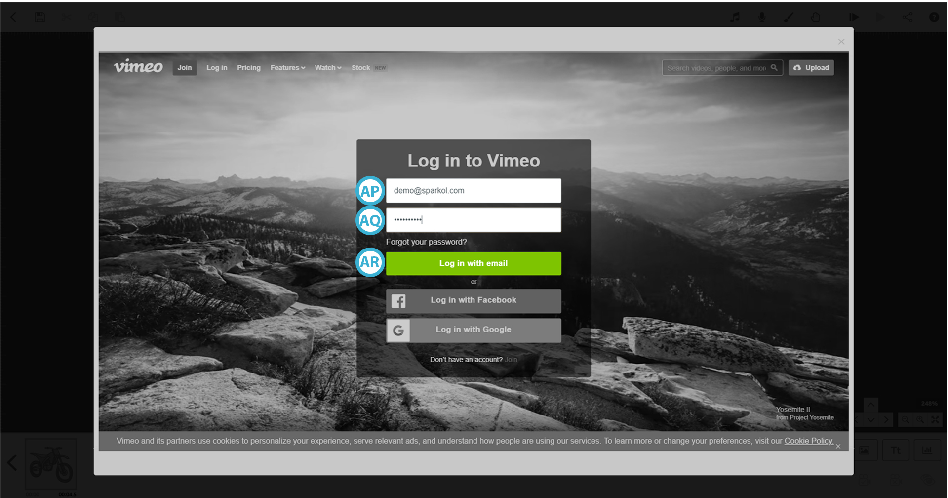 Publish and share scribes : VideoScribe