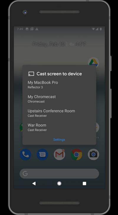 Google Pixel Receivers List