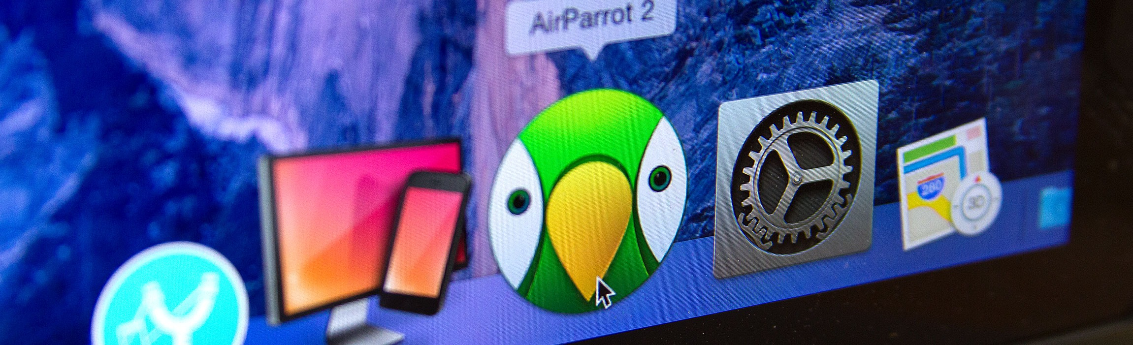 Open AirParrot from Applications