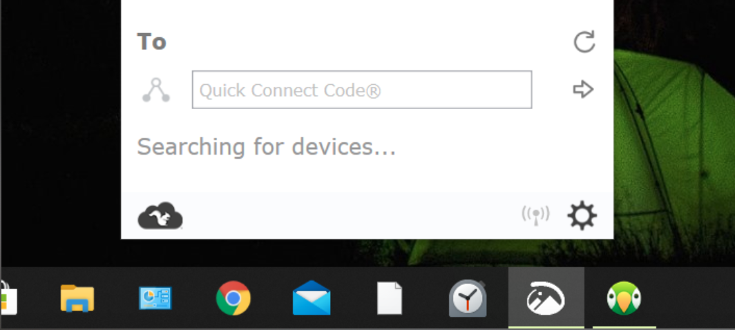 Click Allow in Windows Firewall alert