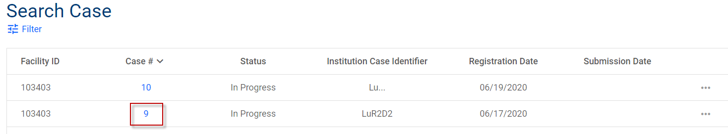 List of case forms