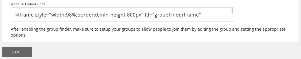 website embed code