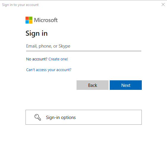 Sign in to you SharePoint account