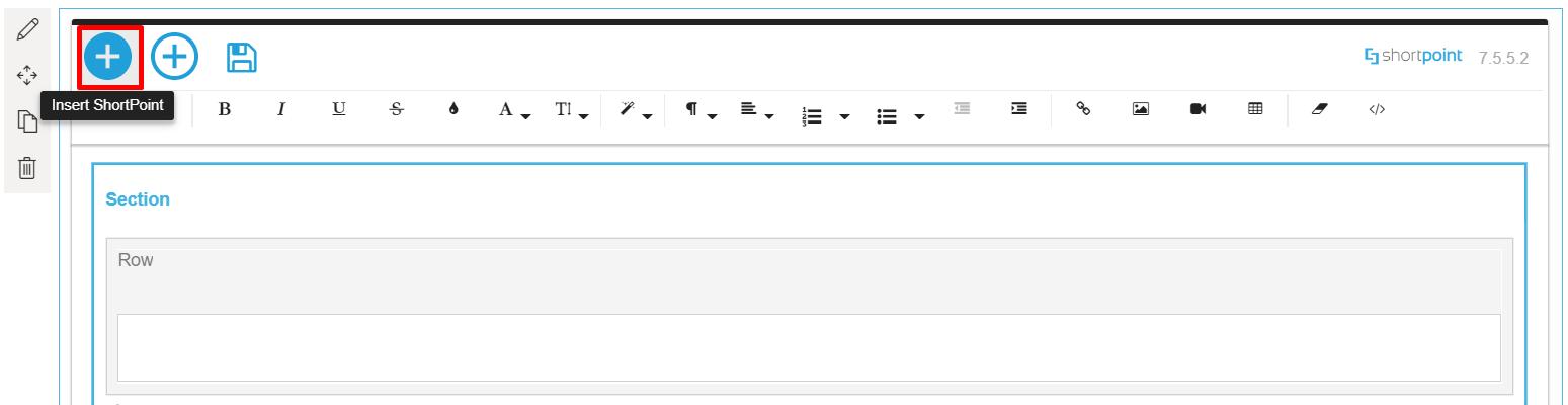 Insert ShortPoint Design Element (modern experience)