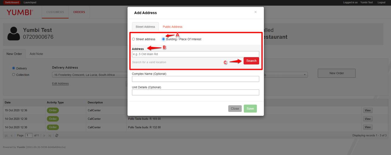 Add New Address Modal Search Options Figure 5.png