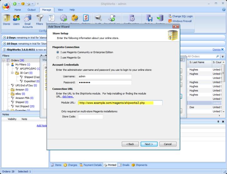 Tips Tricks Installing The Magento Module On Your Server Shipworks