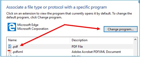 .pdf and change program button screenshots