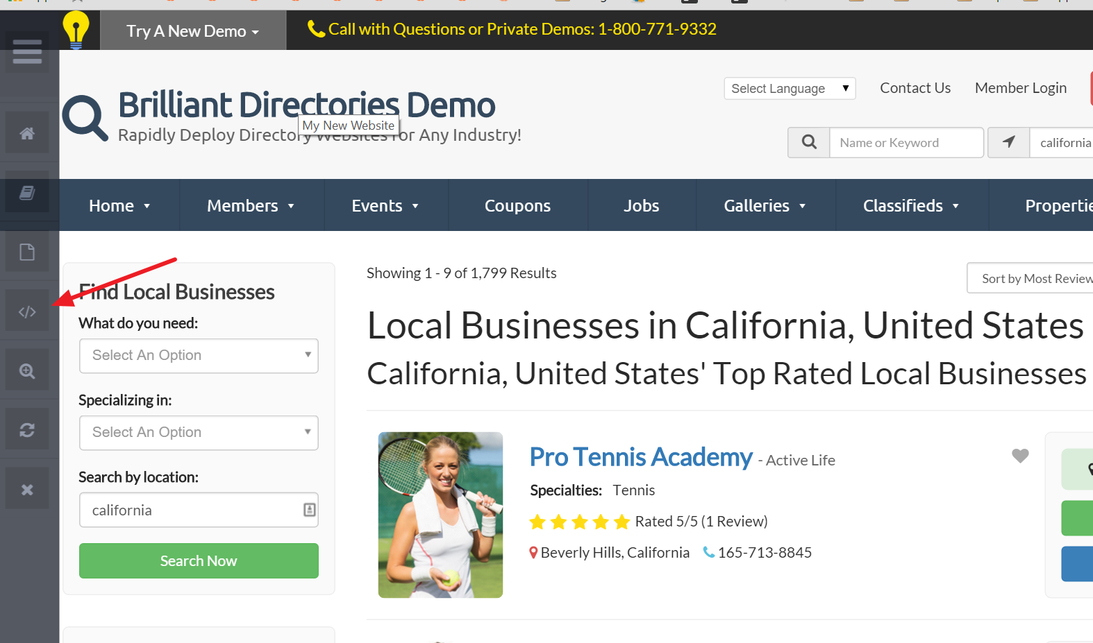 Brilliant Directories - Editing The SEO Of Member Search Results ...
