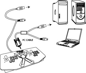 PC & MAC Adapter Layout and Setup Instructions : Xgaming