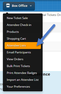 Exporting Attendee Lists : SimpleTix Knowledgeable