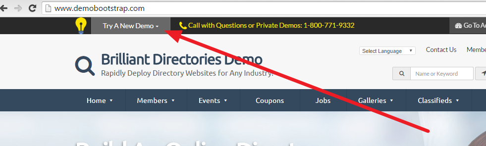 Brilliant Directories - How to Browse Themes - Brilliant Directories